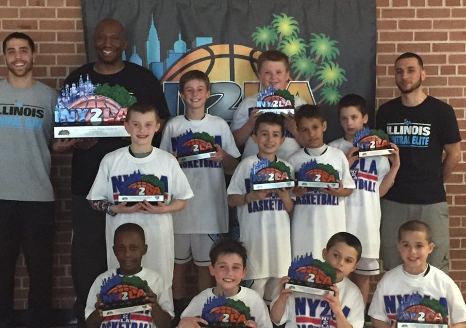 3rd Grade - 2nd Place Platinum Division in NY2LA Swish N' Dish