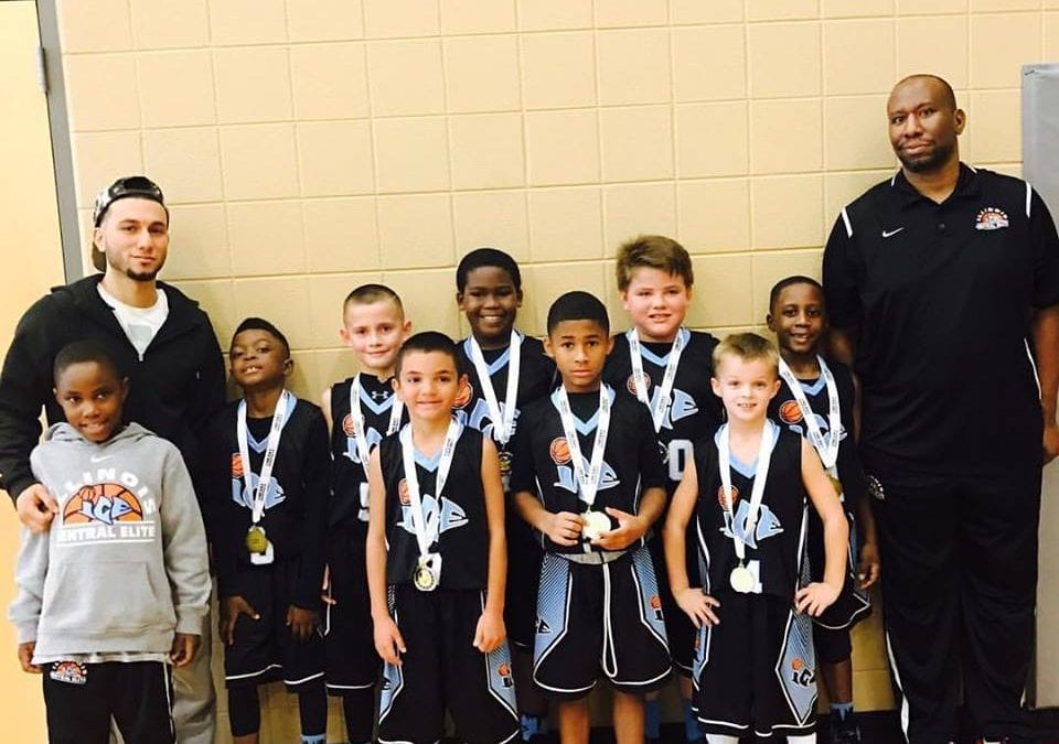 3rd White - Champions of the 3rd-4th Grade Division of Sunday One Day Shootout