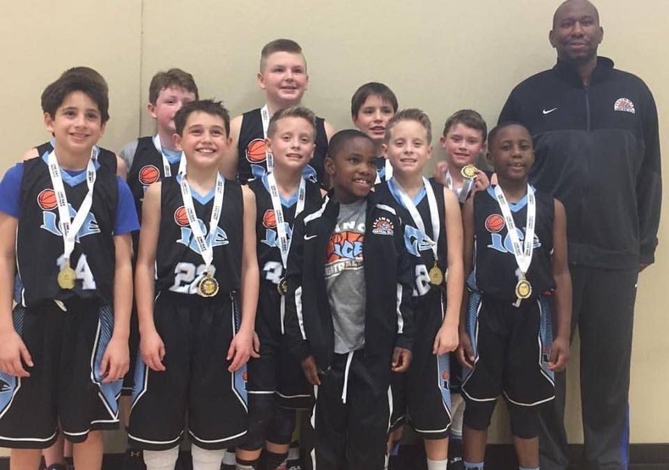 4th Grade - Champions of the 4th-5th Grade Division of Thanksgiving Shootout