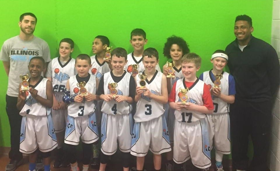 4th Grade - Champions of the Play Hard Hoops Jamfest Tournament
