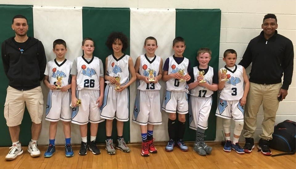 4th Grade - Champions of the Play Hard Hoops Spring Slam Fest