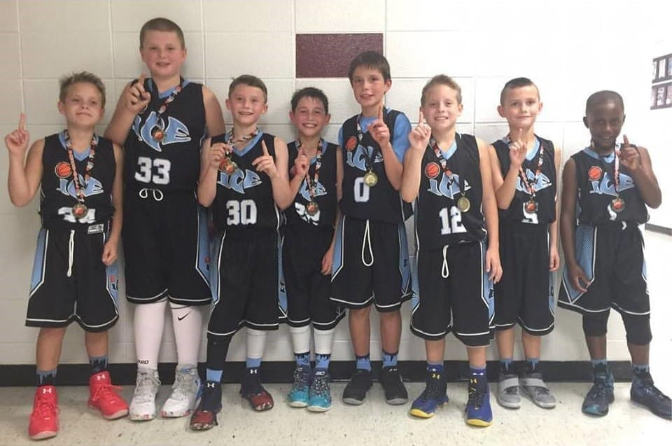4th Grade White - 4th-5th Grade Division Champions of the Trilogy Shootout