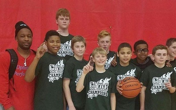 7th Grade - 3-0 and Champions of Kessel Heat Go Live Winter Tournament