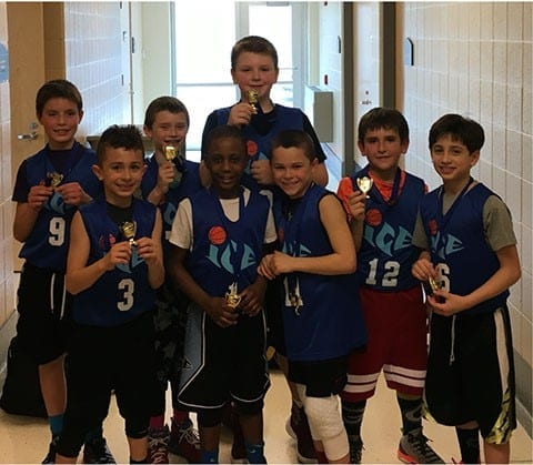 3rd Grade - FTG 4th Grade Champions of Midwest Hoopfest