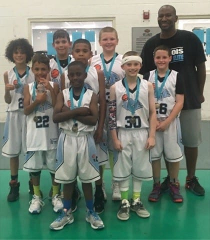 4th Grade - 5th Grade Division Champions of FTG Pre-National Shootout