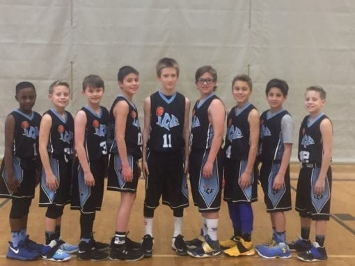 4th Grade White – 3-0 in 11U Division and Champions of the FTG-Xplosion Sunday Shootout