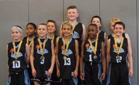 4th Grade Black – Champions of FTG Midwest Challenge Spring Shootout