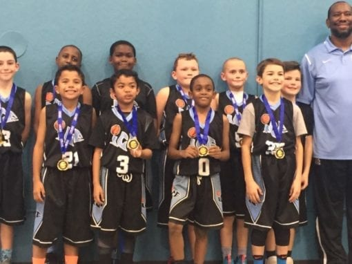 4th Grade White – Champions Of One Day Shootout Thanksgiving Shootout