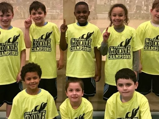 3rd Grade – Champions of GO-LIVE Feeder Sunday Shootout