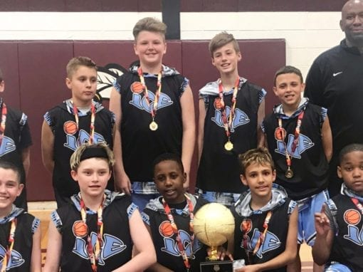 5th National Team – Central AAU District Qualifier State Champions