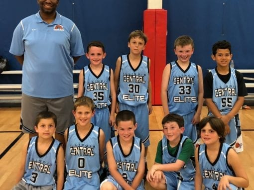 2nd Grade – 2nd Place in regular season standings for Central AAU-Chicago Stats Friday Night League