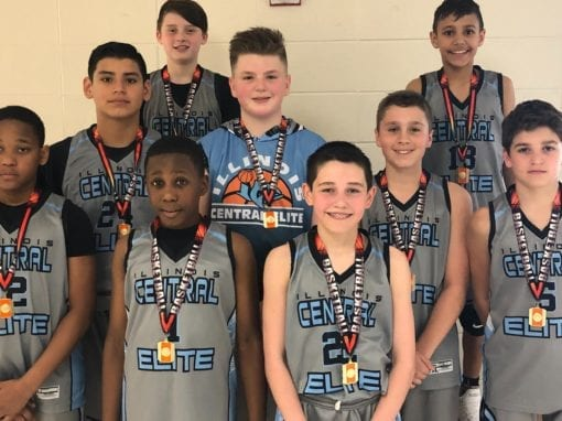 6th Grade Grey – Champions in 7th Grade Division Of The ICE Jamfest Shootout