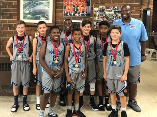 5th Grade Grey – Champions in Silver Bracket Of Jr. Hoops Elite National Championship