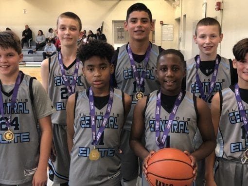 6th Grade Grey – Champions 7th-8th Grade Division in Fall Slam One Day Shootout
