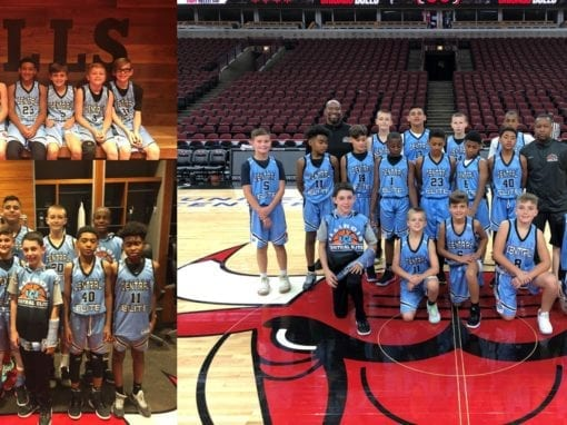 ICE 5th & 6th Grade Teams Playing at the United Center