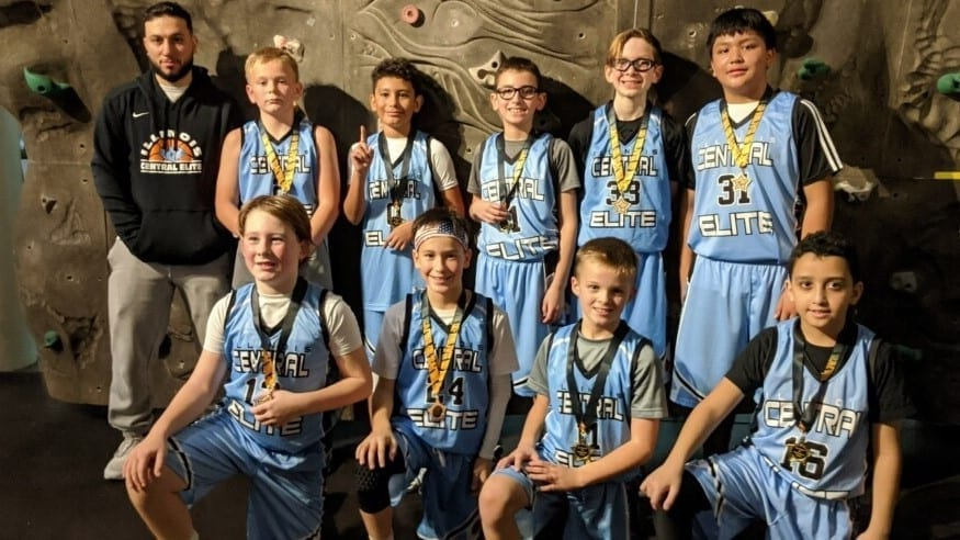 5th Grade Grey Champions Of Stars Of Tomorrow Thanksgiving Classic