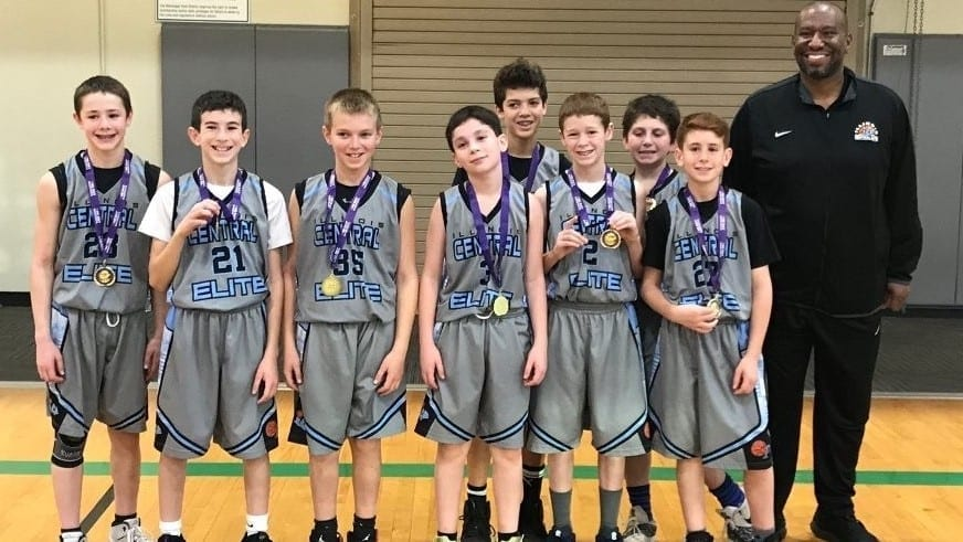 6th Grade Carolina Blue Champions in Veterans Day One Day Shootout