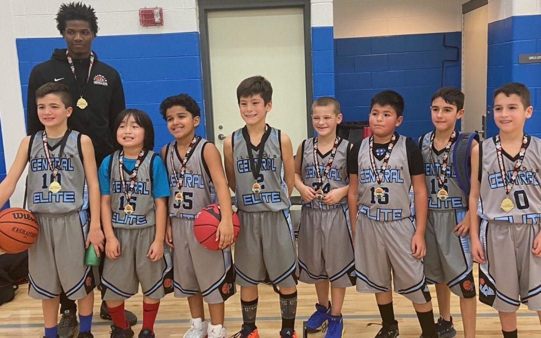 4th Grade Champions in Play Hard Hoops Holiday Hoopfest