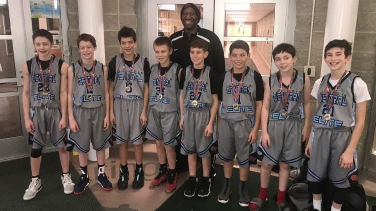 6th Grade Carolina Blue Champions in Go-Live Shootout