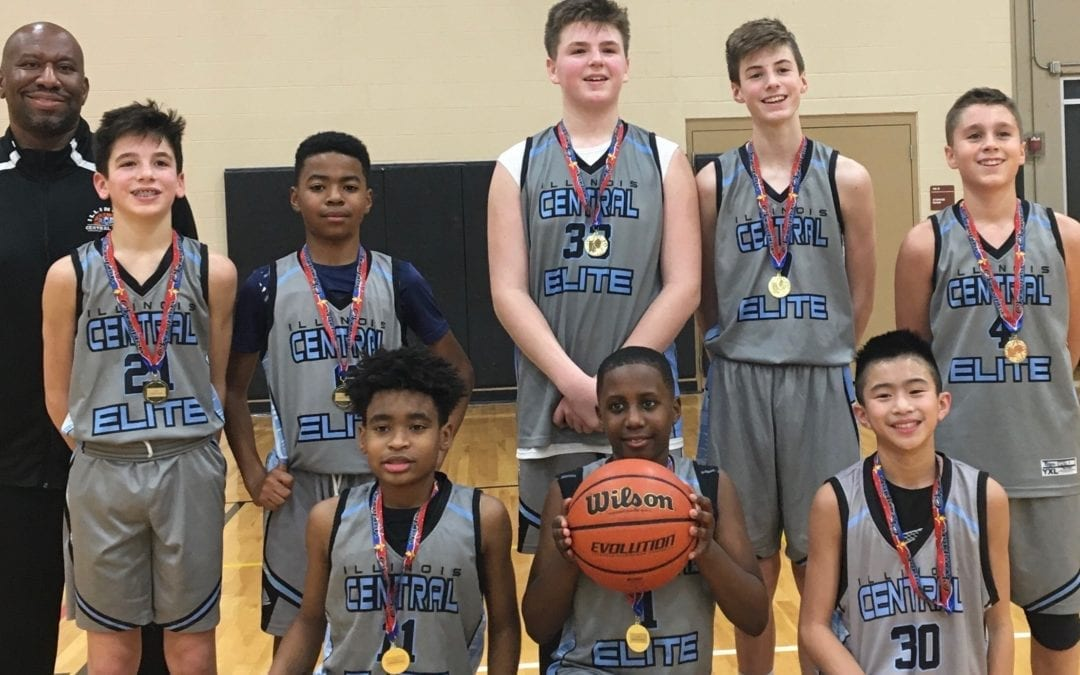 7th Grade Grey Champions in Go-Live Shootout