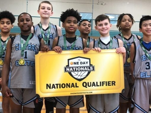 6th Grade Grey – Champions in 7th Grade Division in Super Bowl Shootout