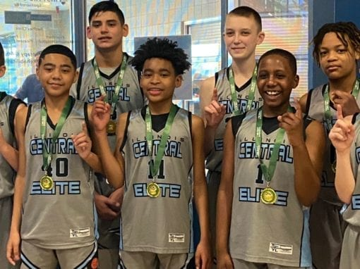 6th Grade Grey – Champions in 7th Grade Division in Winter Nationals One Day Shootout