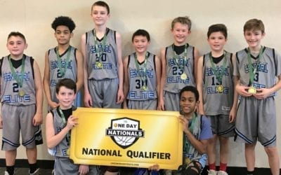 6th Grade – White Champions in Super Bowl One Day Shootout