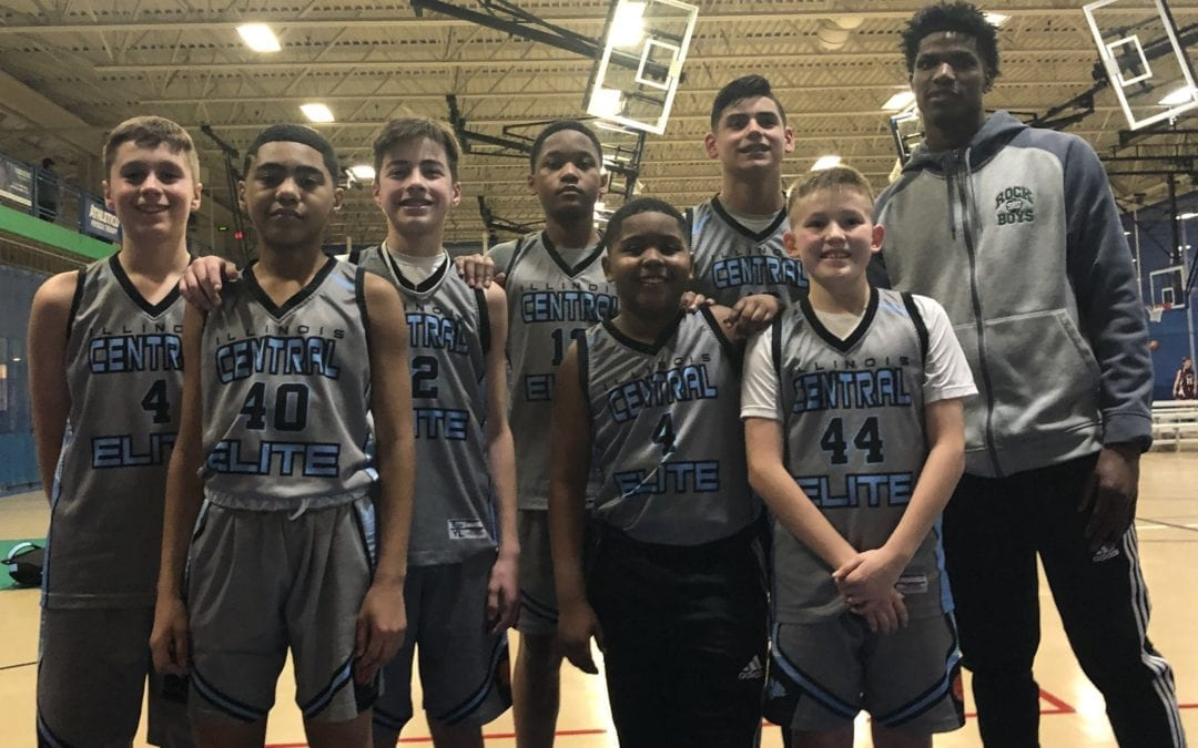 7th Grade Carolina Blue Champions in Winter Nationals Finals One Day Shootout