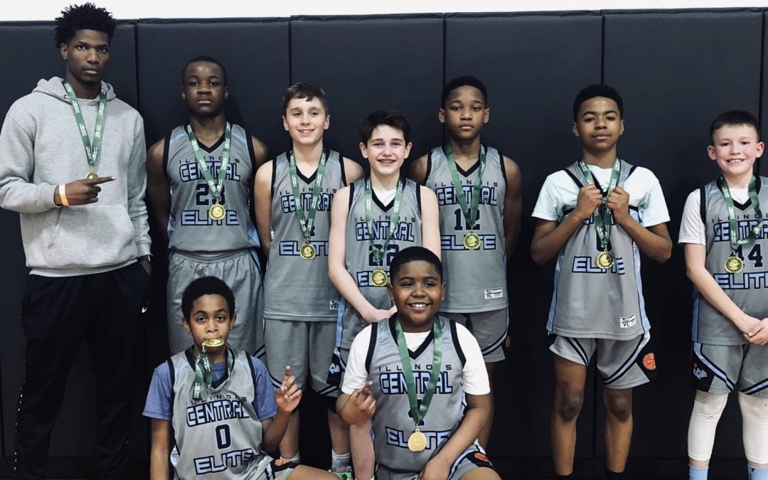 7th Grade Carolina Blue Champions in Winter Finale One Day Shootout