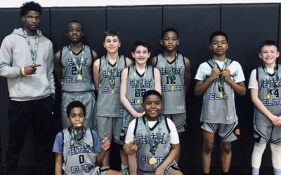 7th Grade Carolina Blue – Champions in Winter Finale One Day Shootout