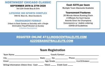 A2ZOE & ICE Presents Northwest Chicago Classic – September 26th & 27th, 2020