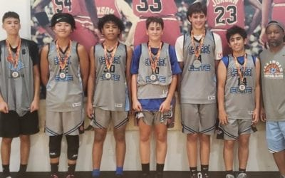 8th Grade Grey – Champions in Silver Bracket in Chicago Challenge