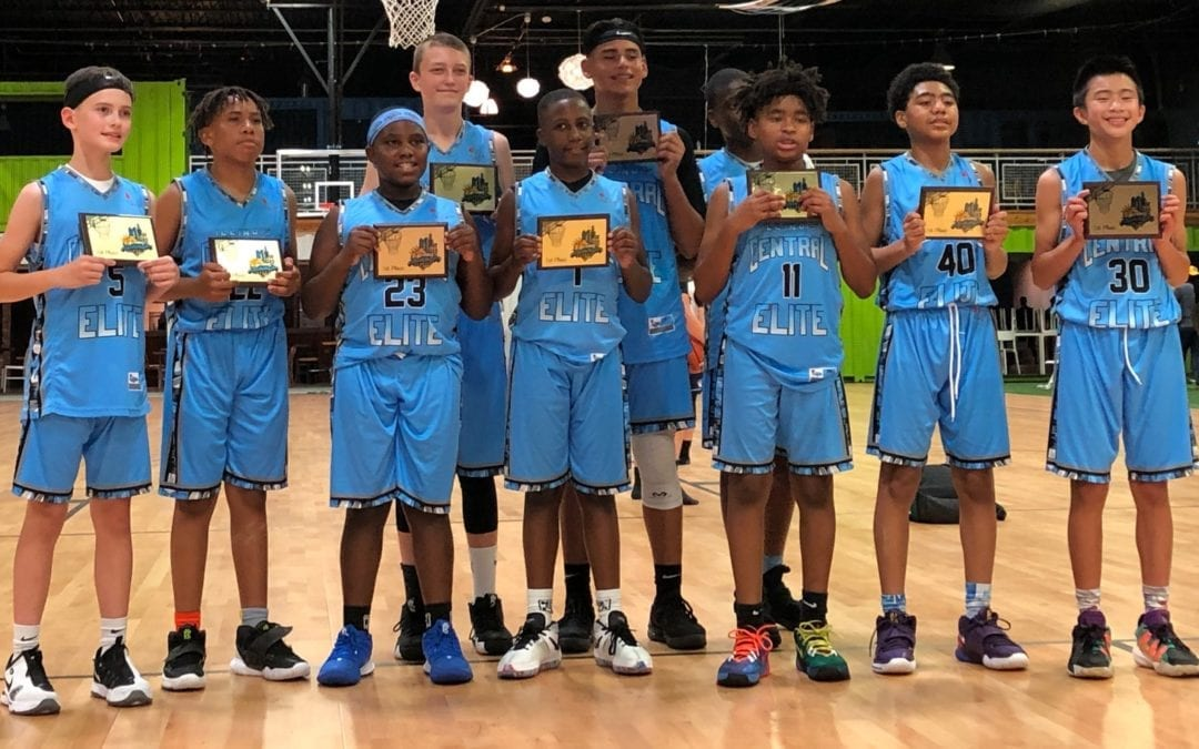 6th Grade Grey - Champions in National Summer Classic