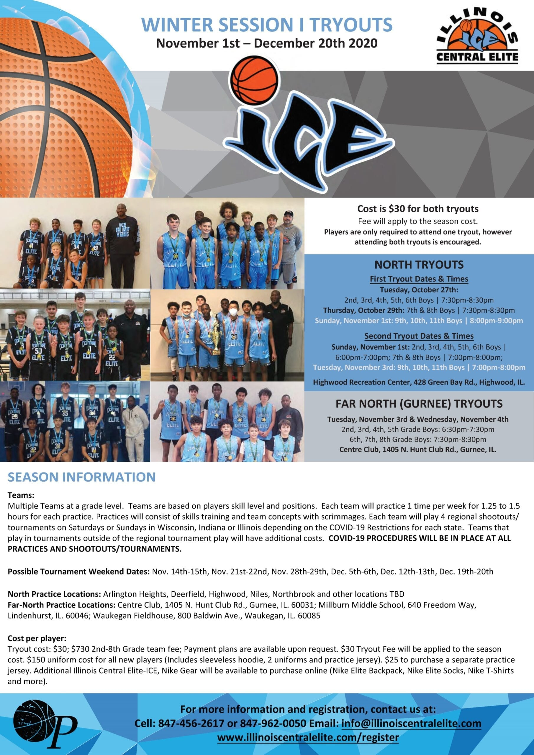 2020 Winter I Tryouts