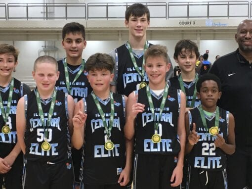 7th Grade Carolina Blue – Champions in Columbus Day One Day Shootout