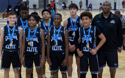 7th Grade Black – Champions in 8th Grade Division in Columbus Day Shootout