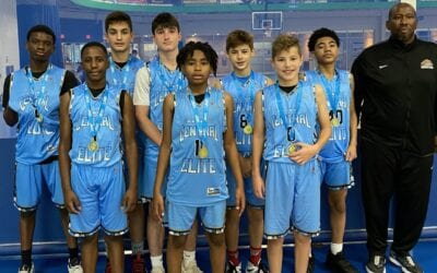 7th Grade Black – Champions in 8th Grade Division in All Out All Game One Day Shootout