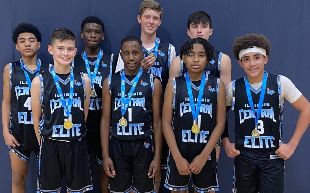 7th Grade Black Champions in 8th Grade Division in Fall Finale One Day Shootout