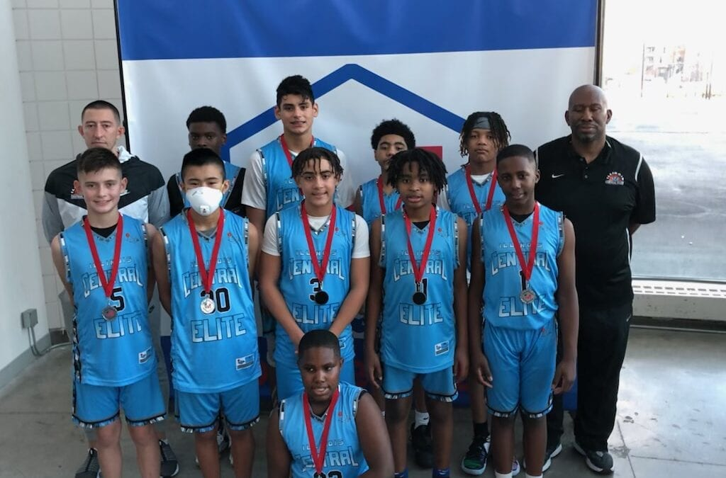 7th Grade Black – 2nd Place Finish with record 5-1 in the 1 Movement Hoops Invitational in Kansas City, MO
