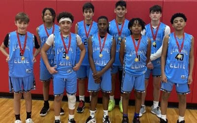 7th Grade Black – Consolation Champions in Jr. Hoops Elite Turkey Shootout