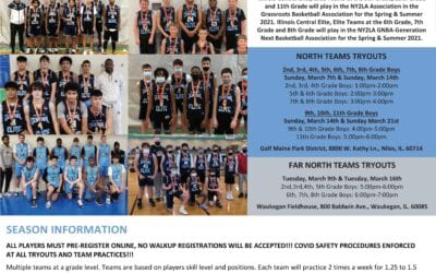 Spring 2021 Tryouts