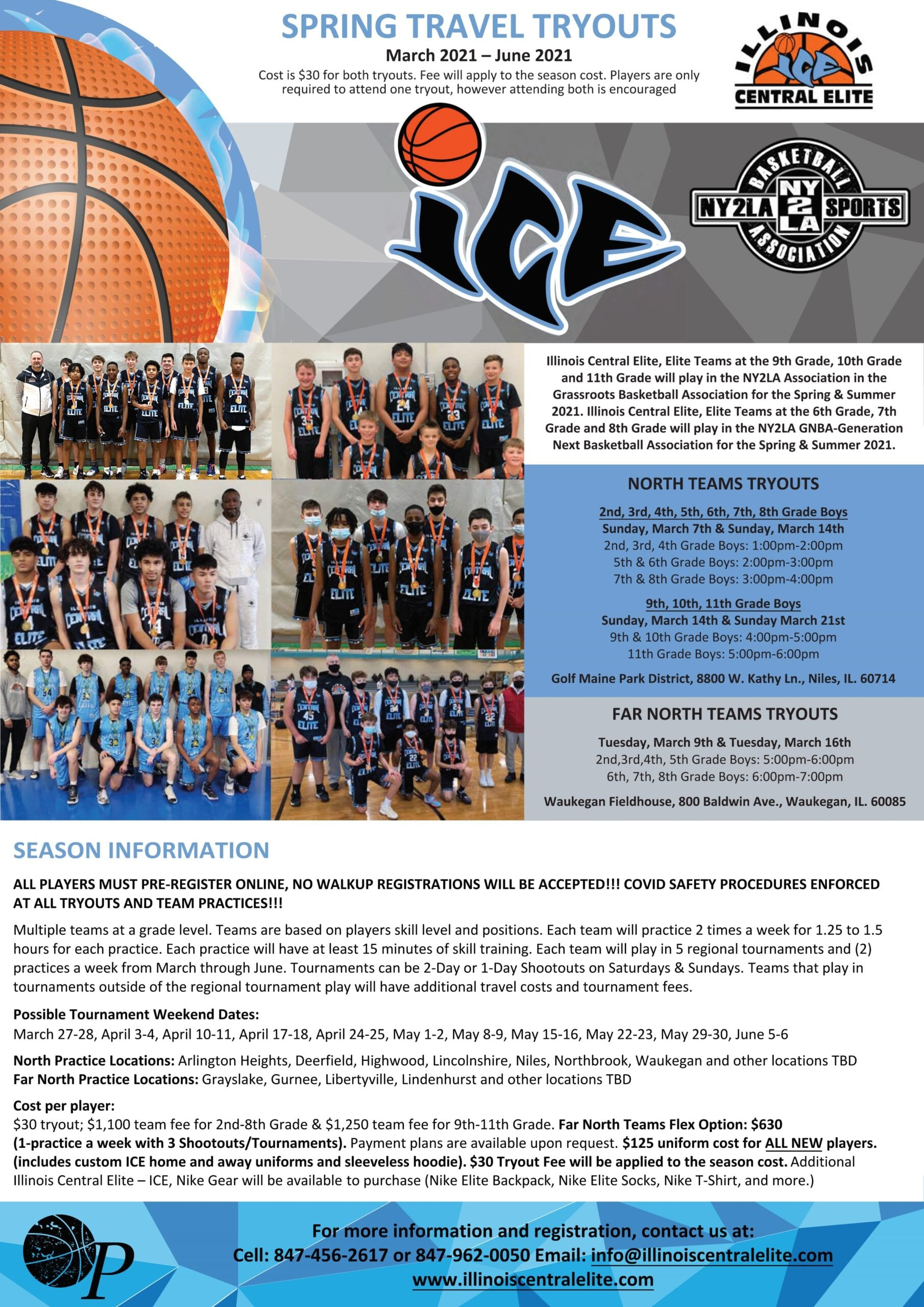 2021 Spring Tryouts