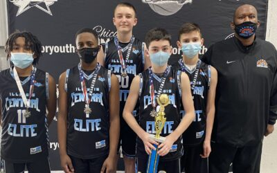 7th Grade Black – 2nd Place at Baylor Youth Winter Blast Shootout