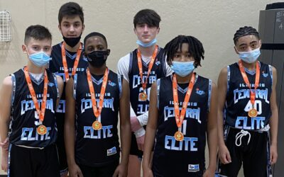 7th Grade Black – Champions in 8th Grade Division in One Day Shootout Super Bowl Shootout