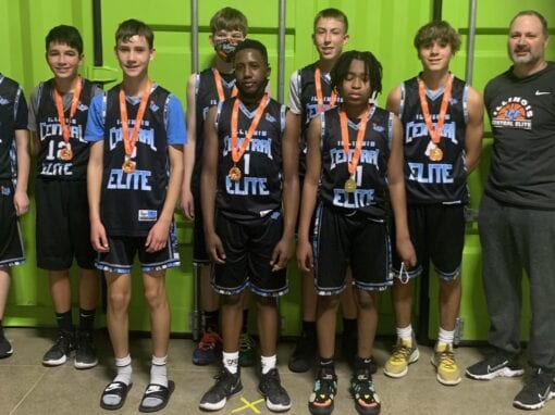 Far-North 8th Grade Silver – Champions in 8th/9th Grade Division in All Out All Game One Day Shootout