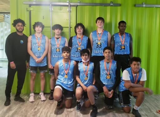 9th Grade Carolina Blue – Champions in King & Queen Of The Court One Day Shootout