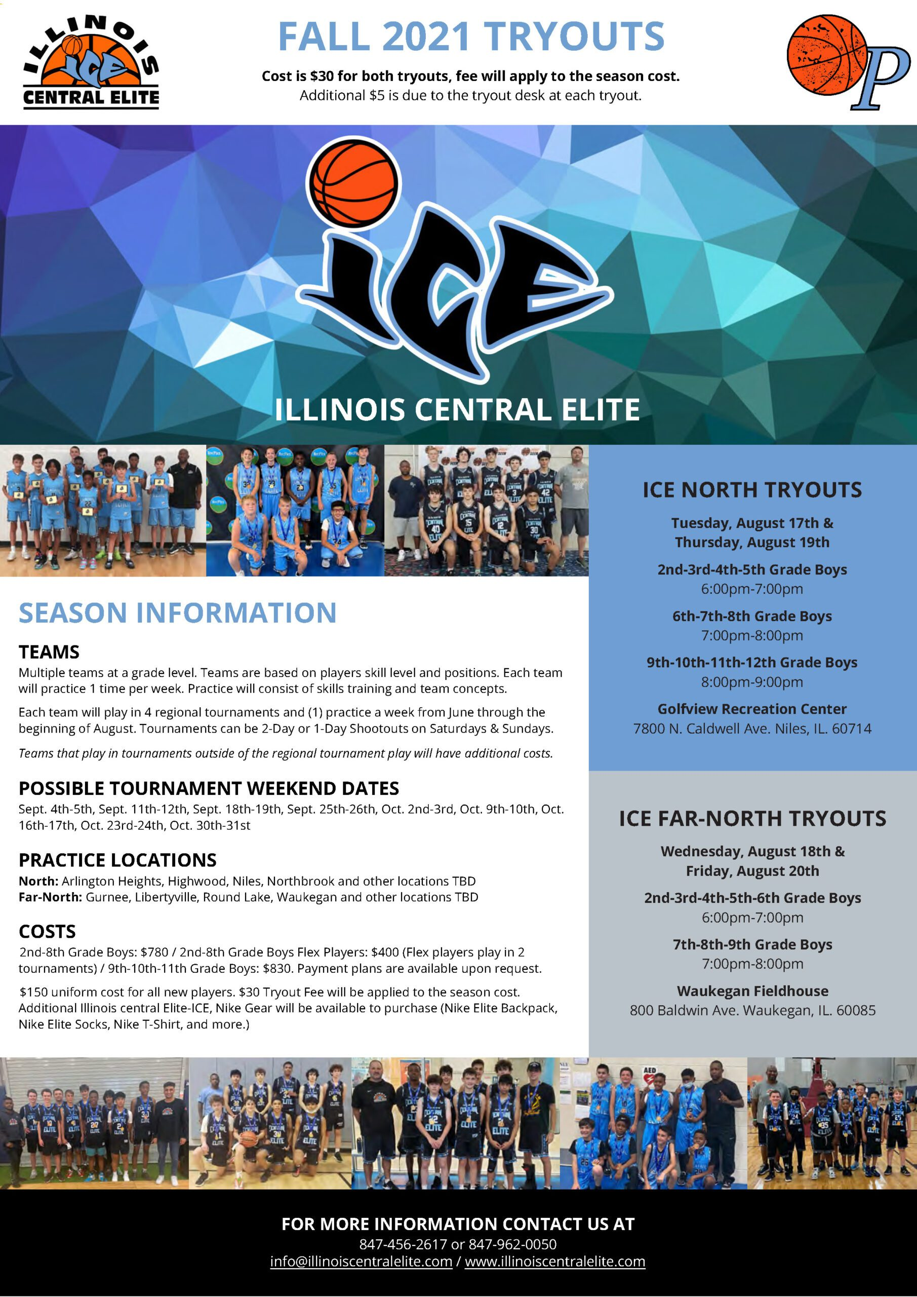 2021 Summer Tryouts