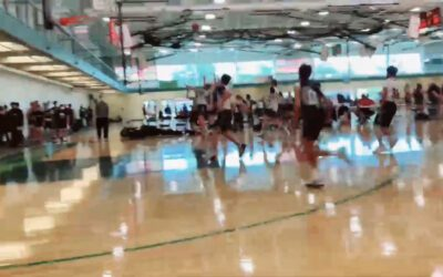 ICE 8th Grade Player Mike Murray with game winning 3pt shot!