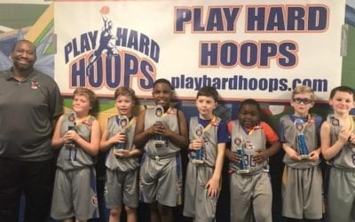 3rd Grade Grey – Champions Of Play Hard Hoops Feeder League