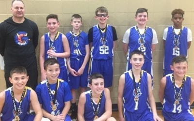 7th Grade Blue – Champions in Play Hard Hoops Holiday Hoopfest